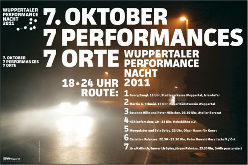 Wuppertaler Performance Nacht 2011 mit Moogulator
