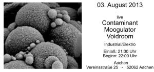 Moogulator 3.8.2013 Aachen AZ