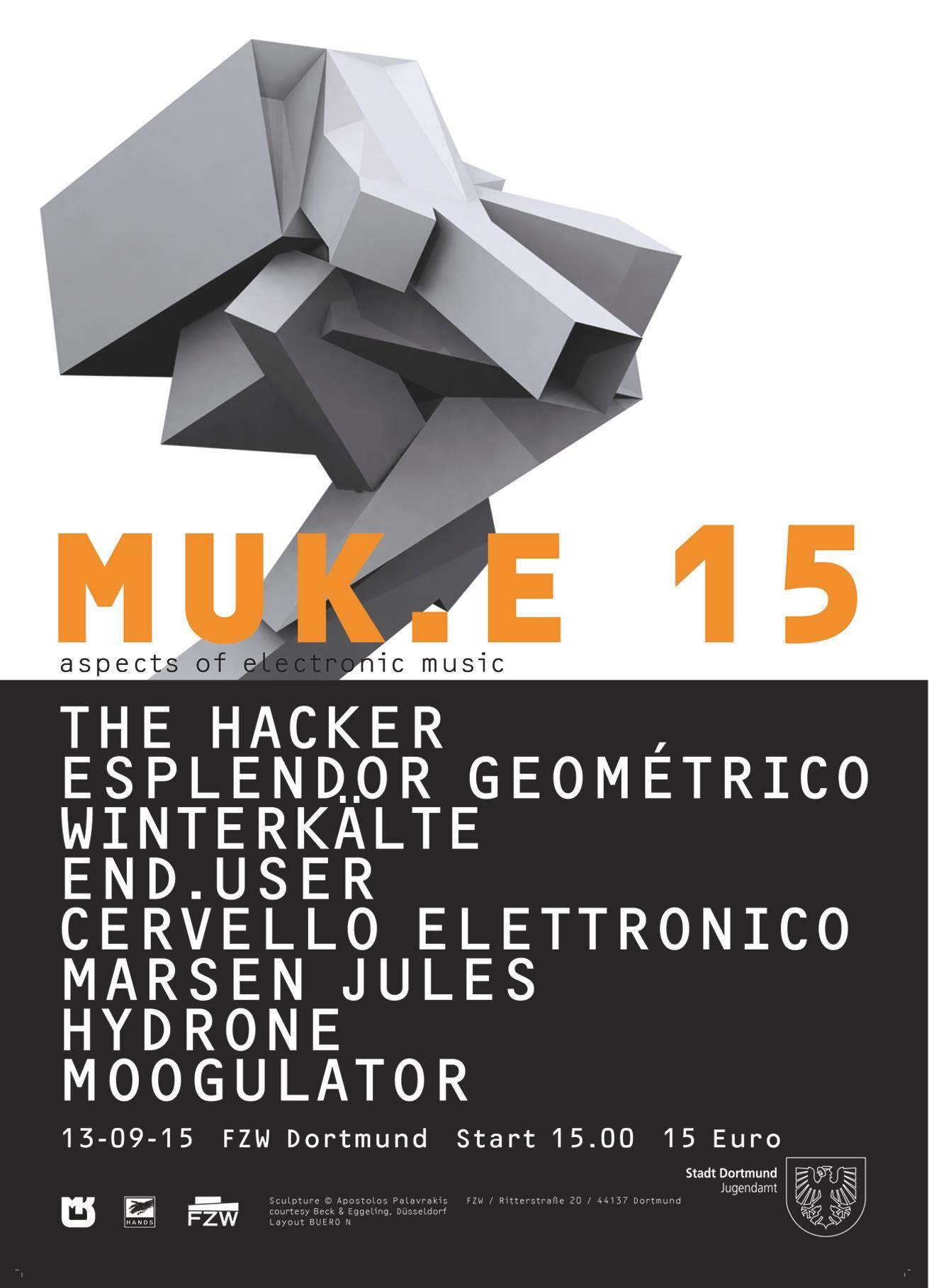 MUK.E 15 Festival