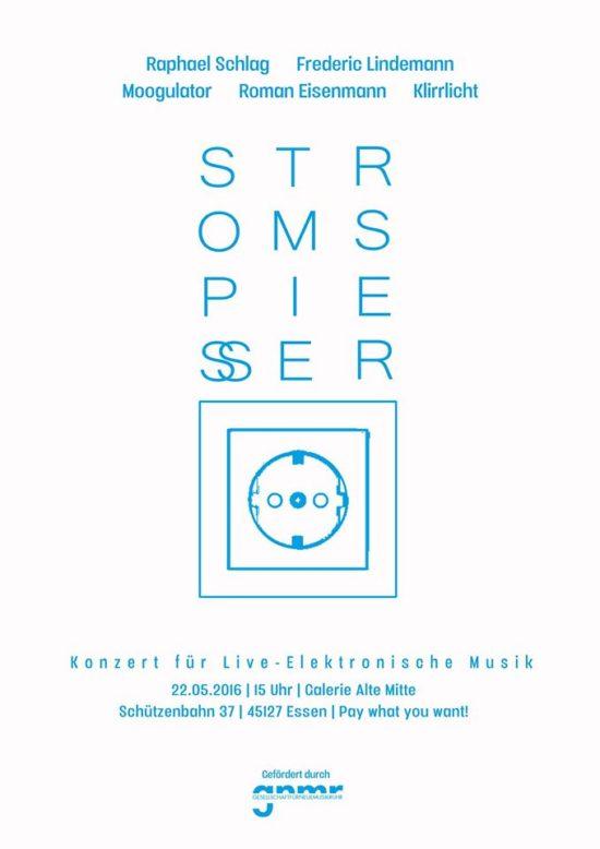 Stromspiesser Moogulator 2016