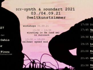 DIY-SYNTH & SOUNDART // DÜSSELDORF 03-04.09.21 WELTKUNSTZIMMER